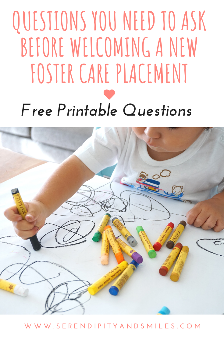 Important Questions To Ask Before Accepting A New Foster Placement