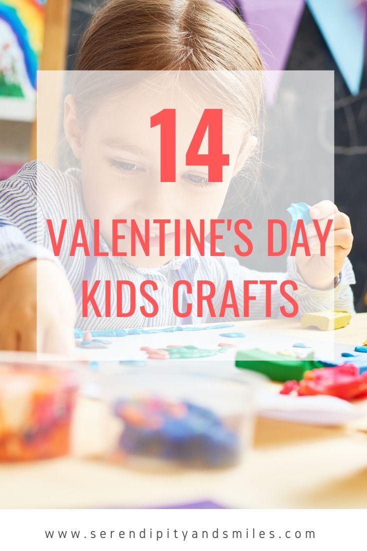 14 Valentine\'s Day Kids Crafts