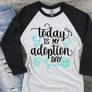 Today is My Adoption Day Mockup 2
