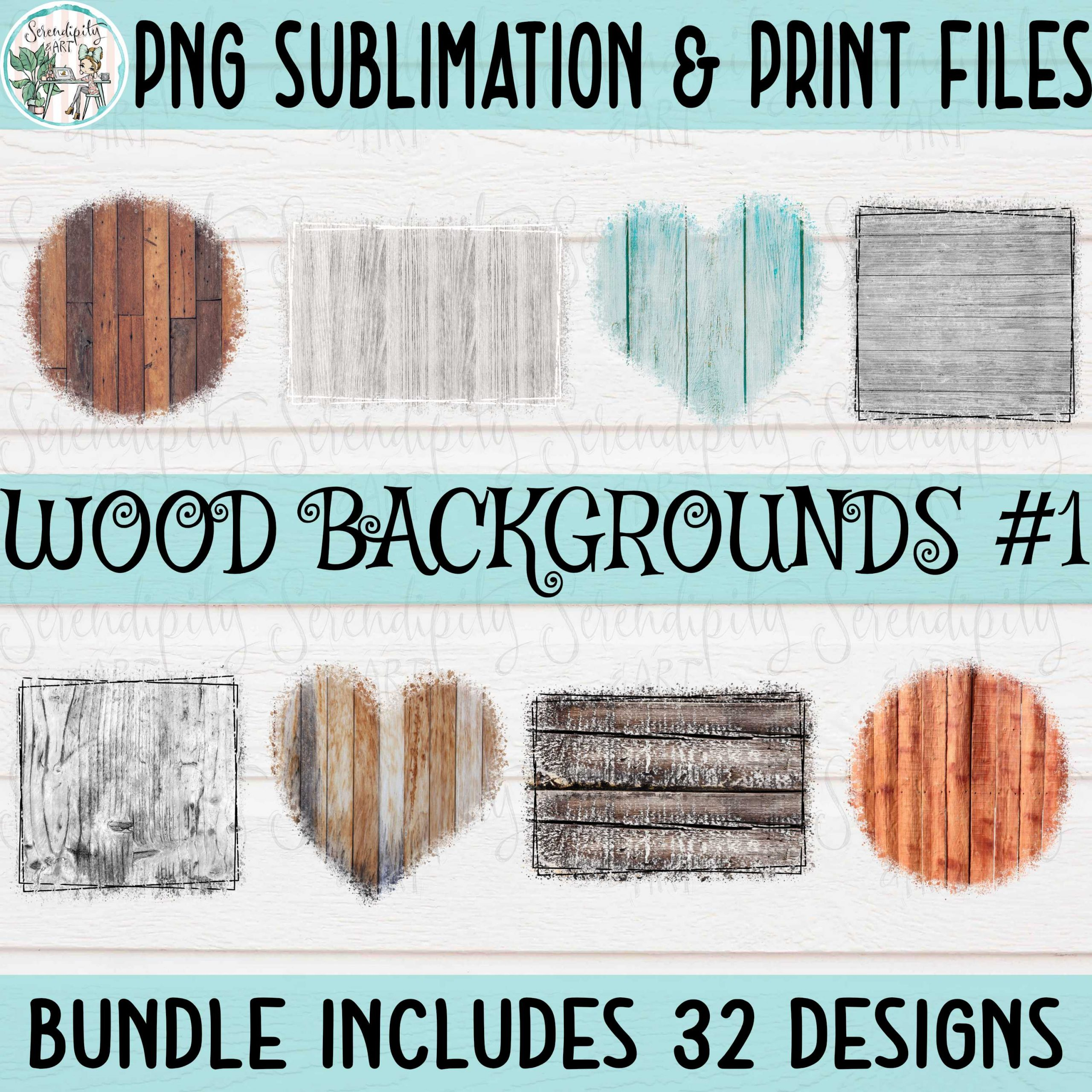 Wood Backgrounds #1 Mockup 1