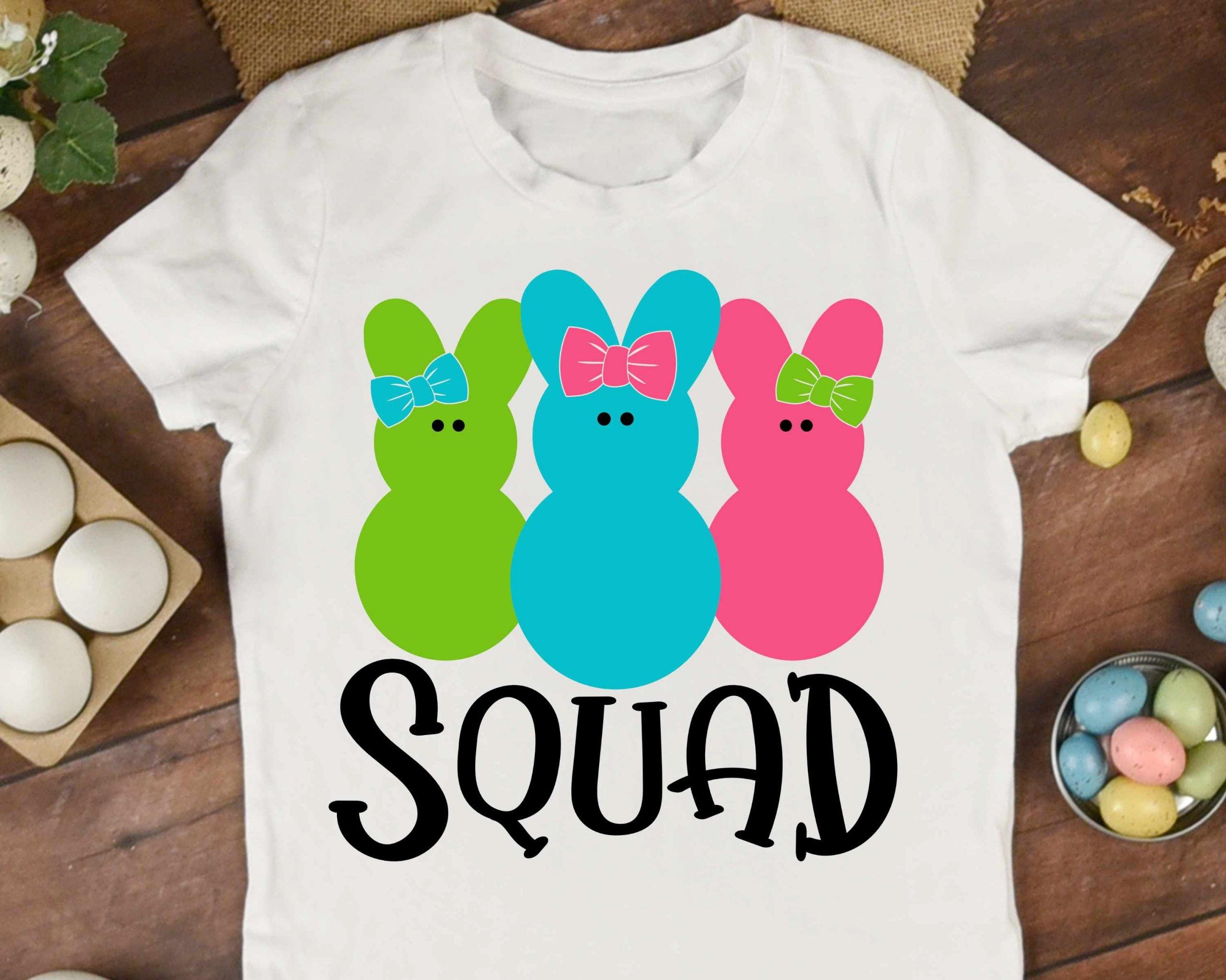 Squad Bunnies Girls Mockup 3