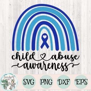 child abuse svg rainbow mockup 2