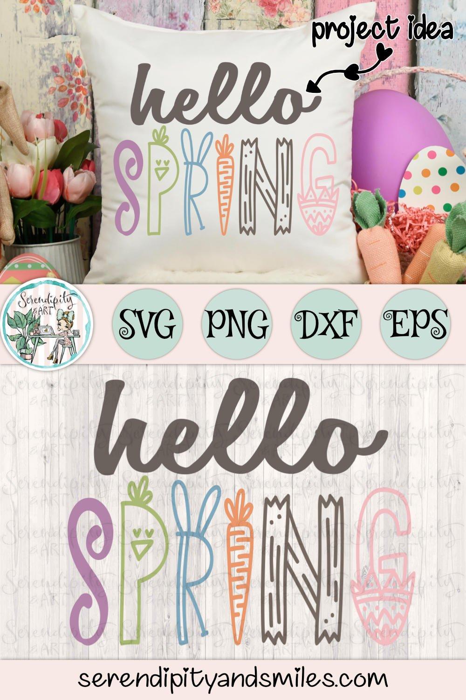 Hello Spring - Cut Files