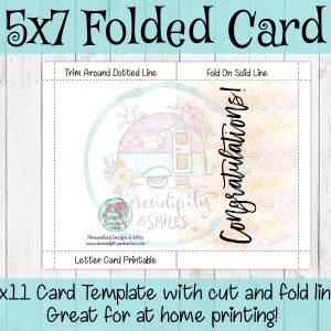 5×7-Congratulations-Card-Pink-Gold-Mockup 2