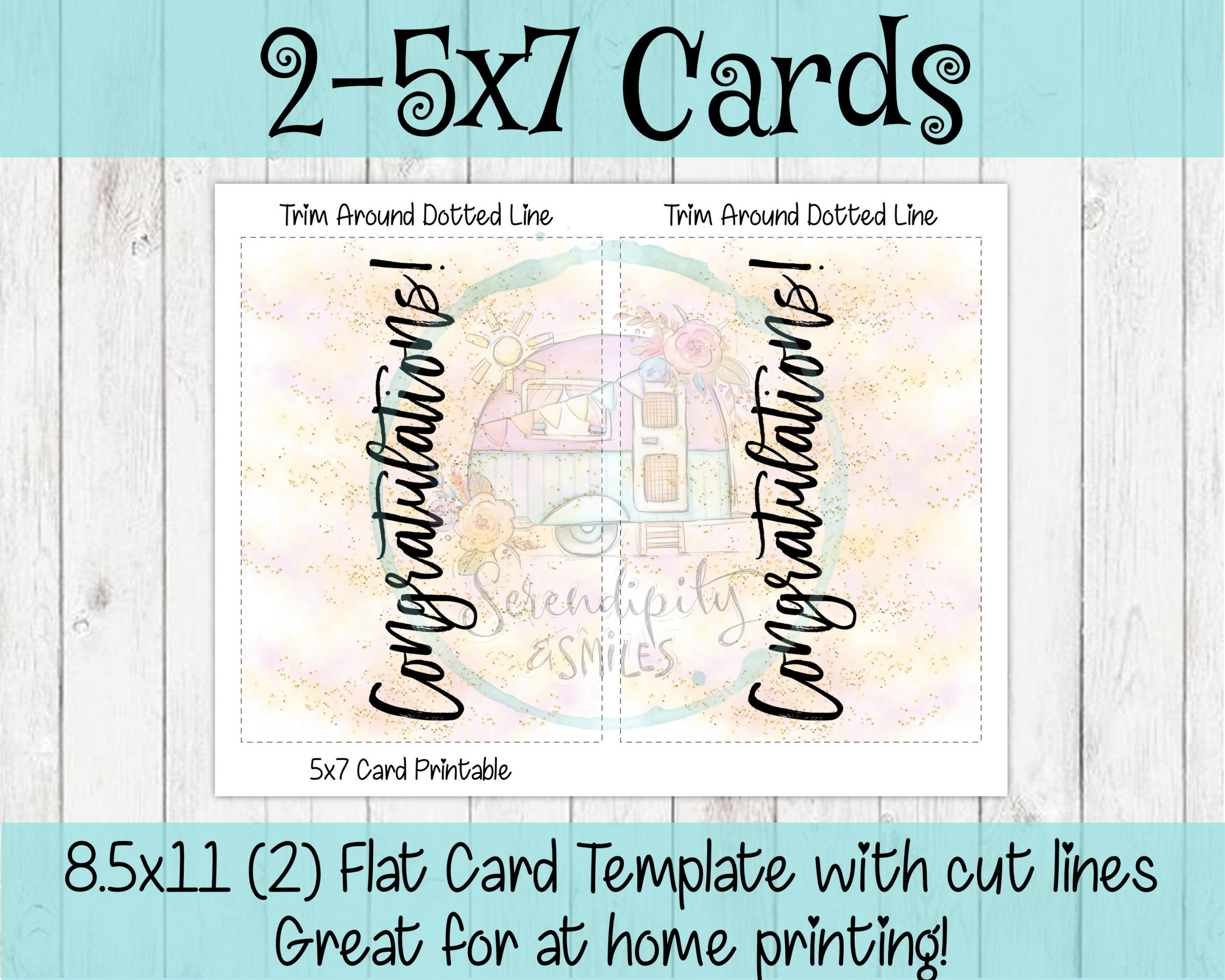 5×7-Congratulations-Card-Pink-Gold-Mockup 3