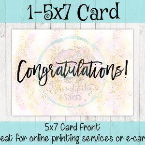5×7-Congratulations-Card-Pink-Gold-Mockup 4