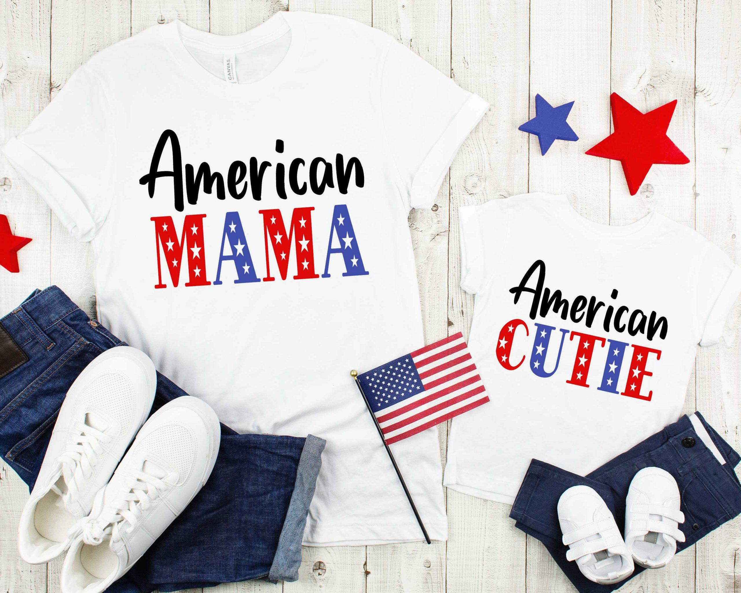 American Cutie SVG Mockup 1