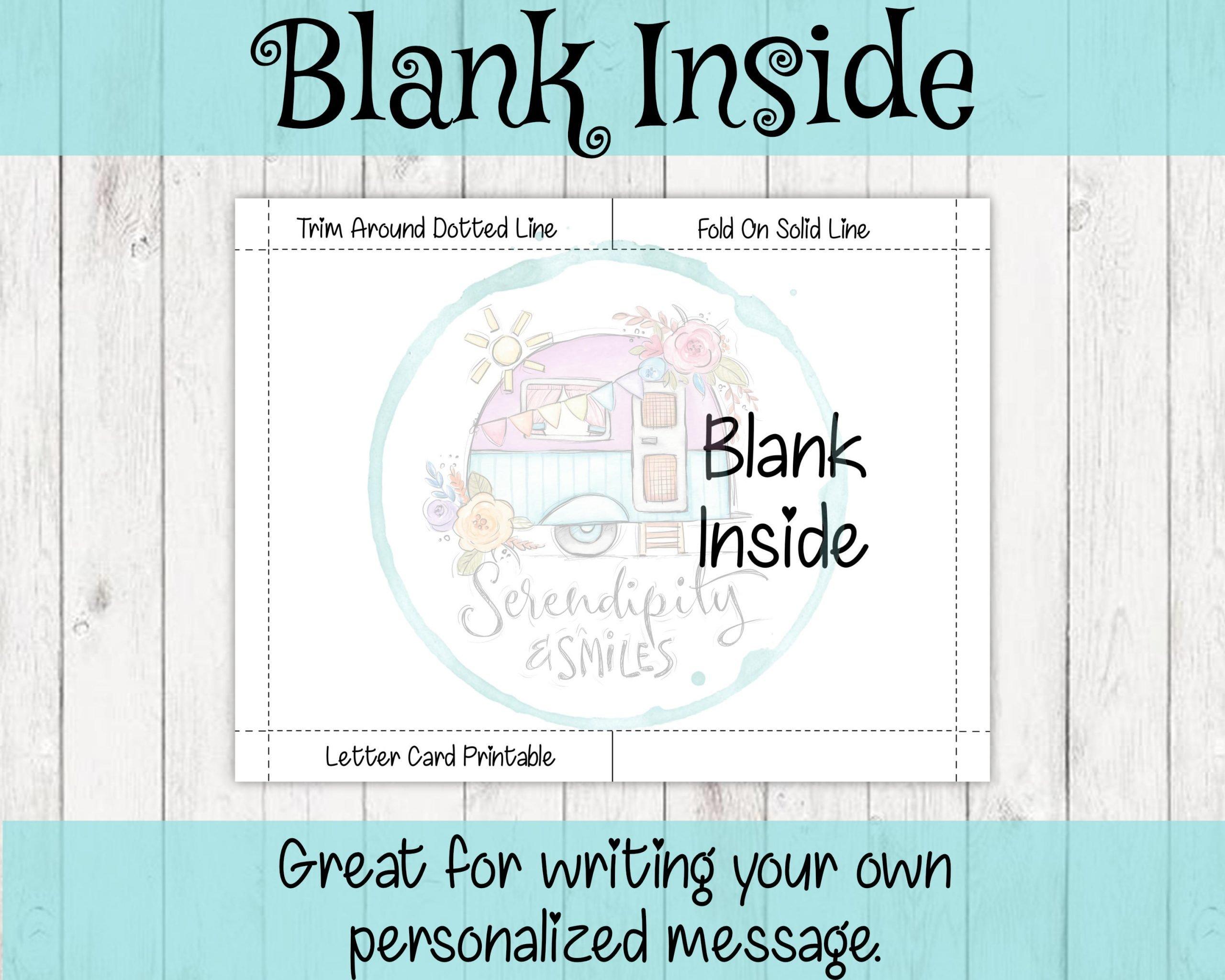 Blank Inside Mockup