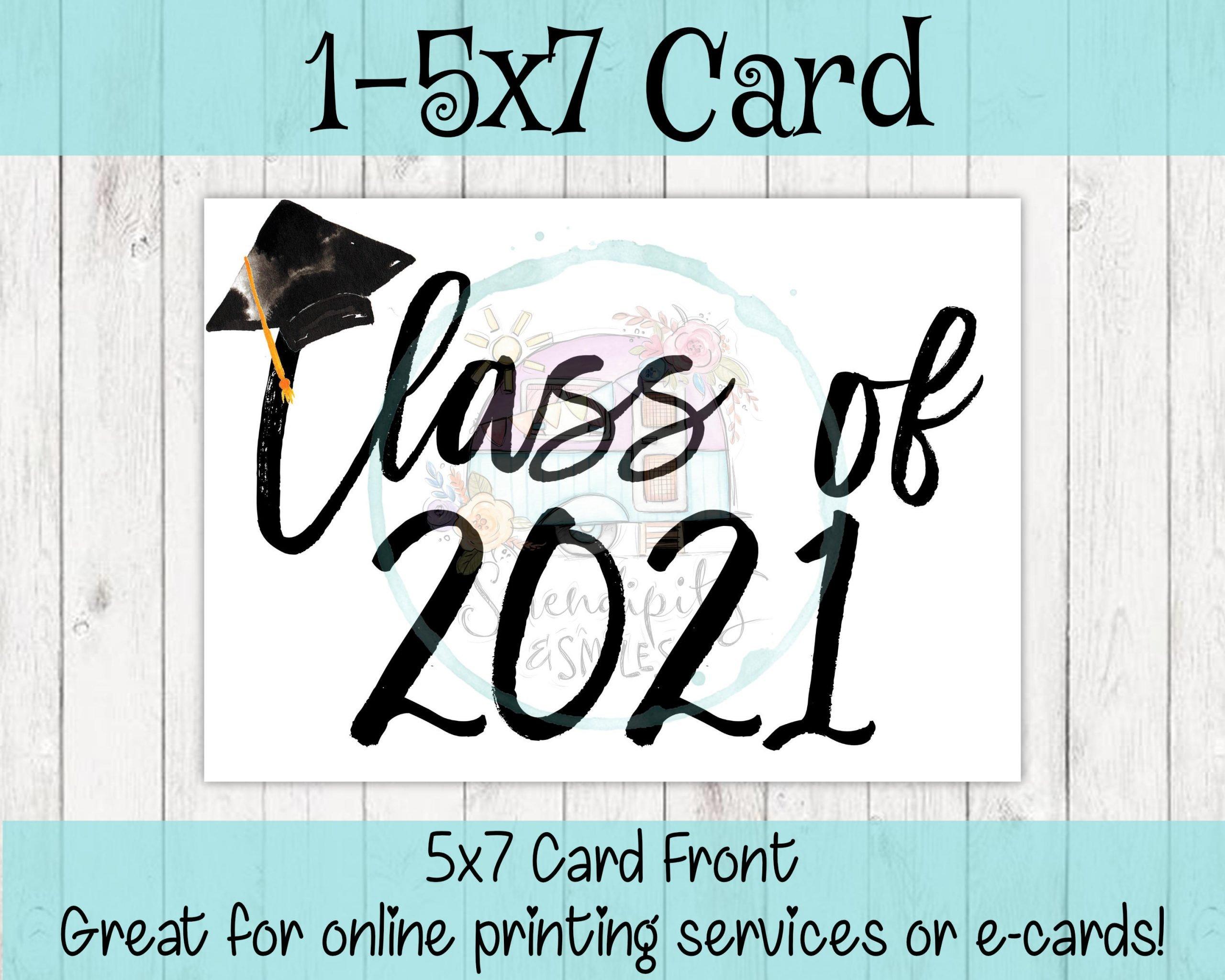 Class of 2021 Card Mockup 4