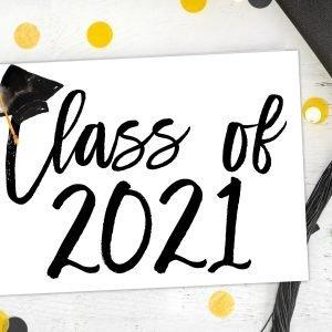 Class of 2021 Card Mockup 6