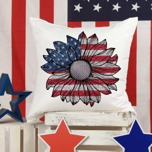 USA Glitter Sunflower Mockup 1