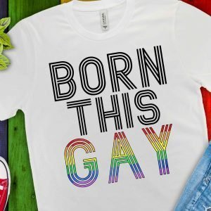 Born This Gay Mockup 1