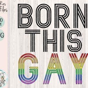 Born This Gay Mockup cf