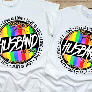 Husband Love is Love Mockup 3