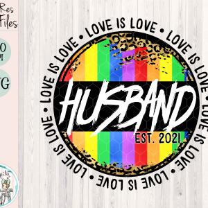 Husband Love is Love Mockup