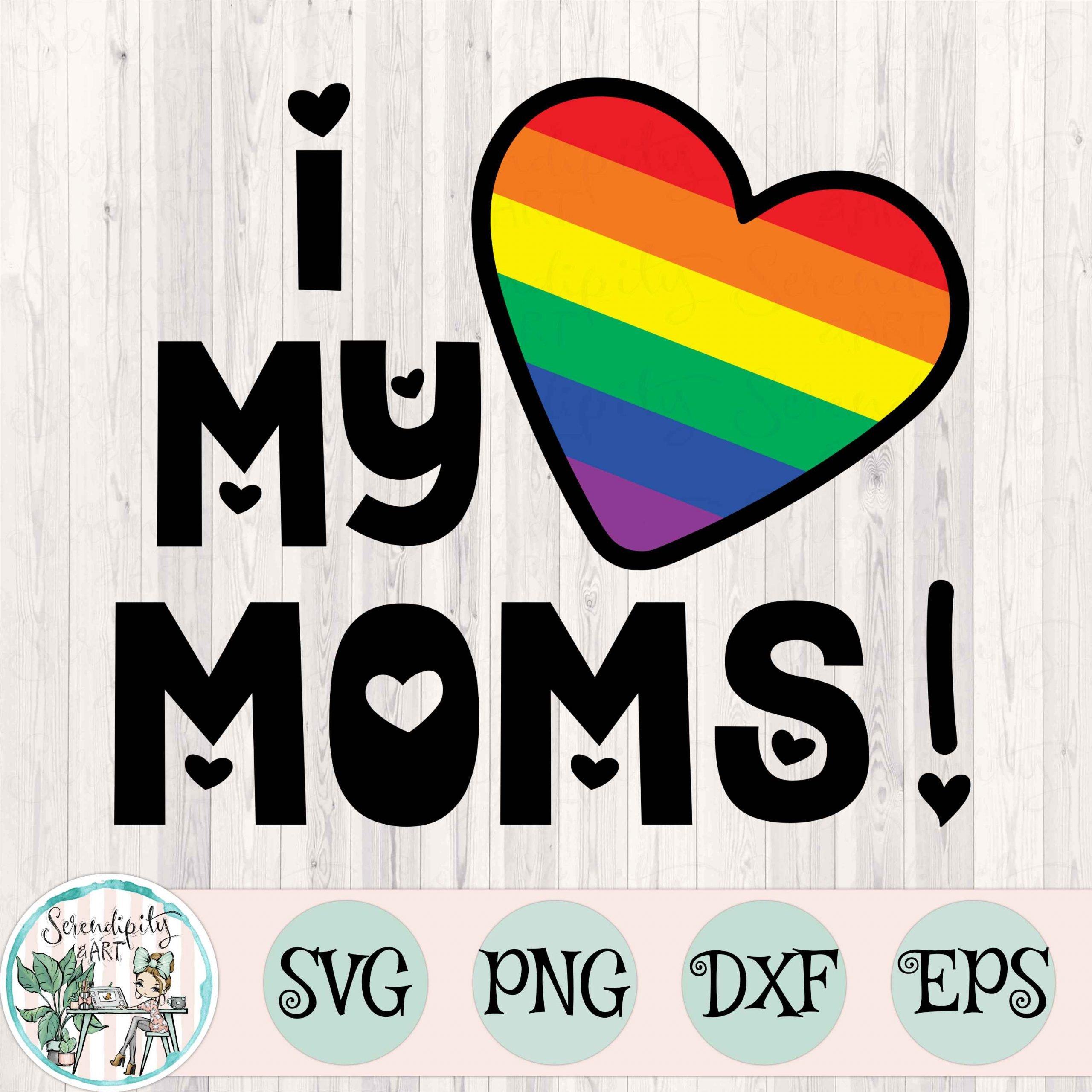 I love my moms square