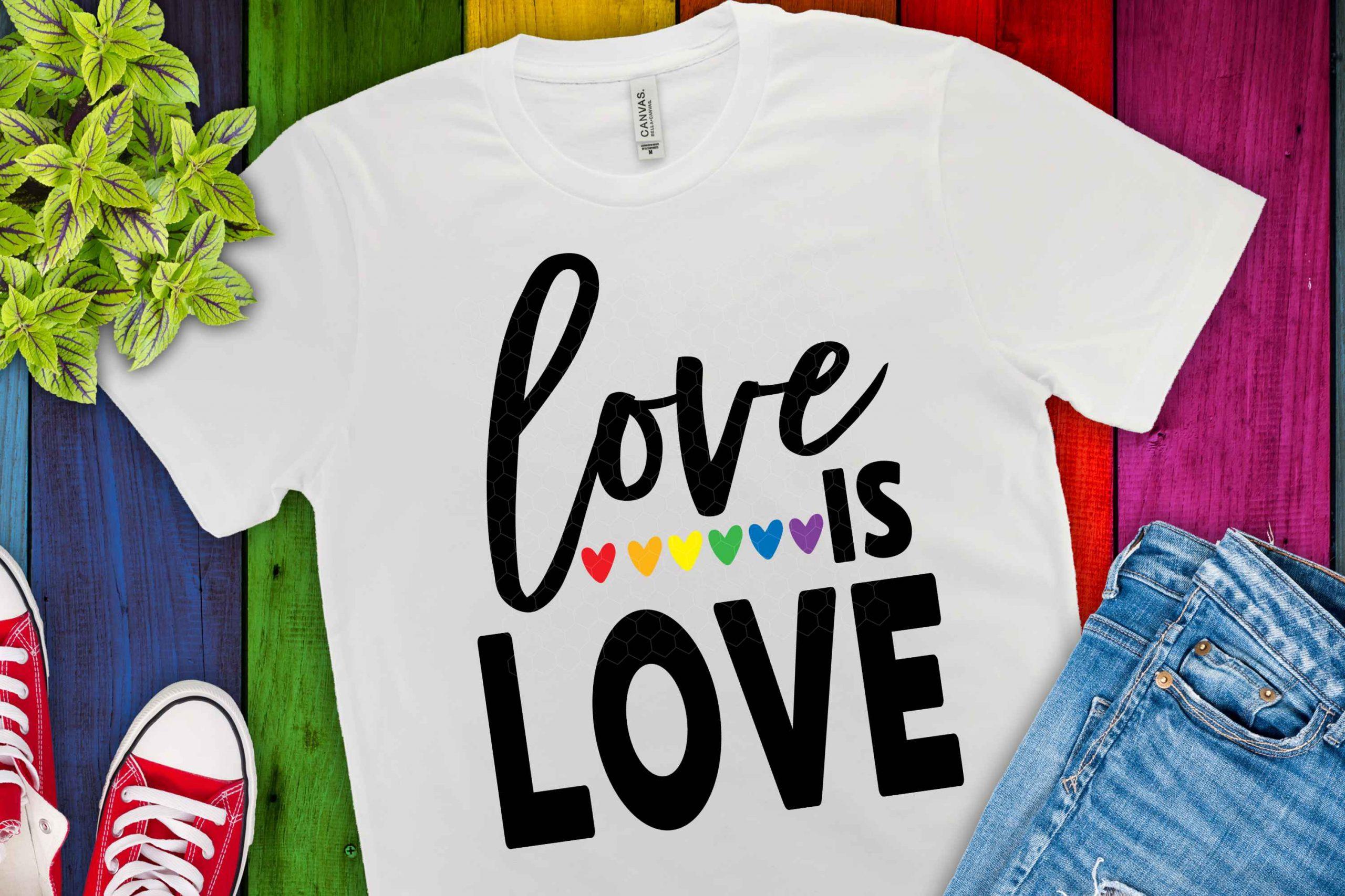 Love Is Love Mockup 1