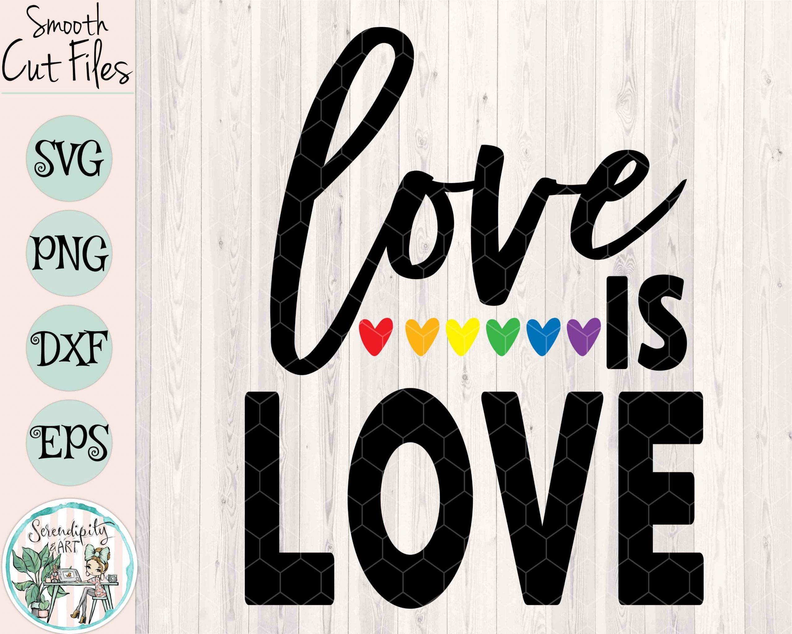 Love Is Love Mockup