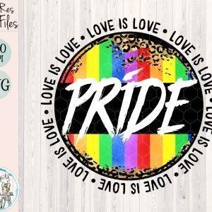Pride Love Is Love Mockup