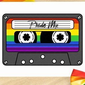 Pride Mix Tape Mockup 2