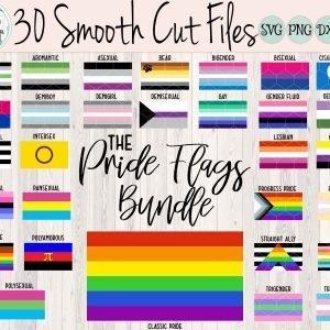 Pride Wings Bundle Mockup Etsy