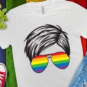 Rainbow Side Part Mockup 1