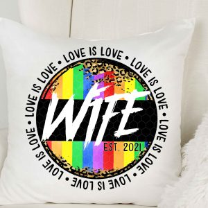 Wife Love Is Love Mockup 2